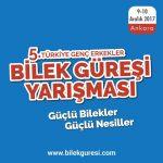 5. Türkiye Genç Erkekler Bilek Güreşi Düzenleniyor…