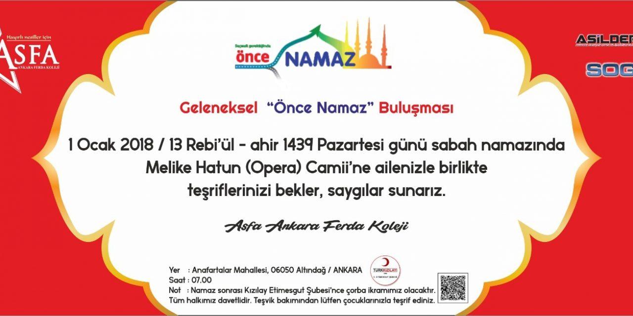1 Ocak 2018 Sabah Namazinda Melike Hatun Opera Camii Nde