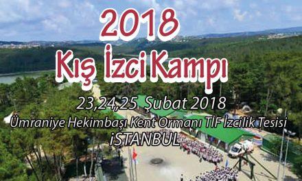 2018 Kış İzci Kampımız İstanbul Ümraniye Kent Orman'da.