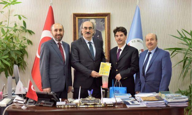 Hayat Boyu Öğrenme Genel Müdürü, Mehmet Nezir Gül'ü Ziyaret Ettik.