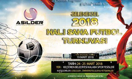 Geleneksel Halı Saha Futbol Turnuvası Başlıyor.