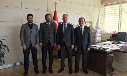 GSB Spor Faaliyetleri Daire Başkanı Ömer KALKAN'ziyaret Ettik