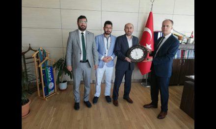 GSB Spor Faaliyetleri Daire Başkanı Ömer KALKAN Beyi Makamında Ziyaret Edip Teşekkür Ettik
