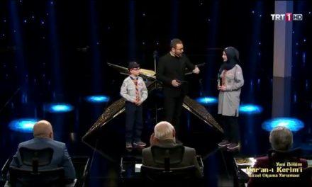 İzciler, Kur'an-ı Kerim'i Güzel Okuma Yarışmasında