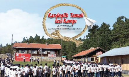 """İzcilerimiz """"Kardeşlik Temalı İzci Kampı"""" için Bolu Aladağ 'a Gidiyor."""