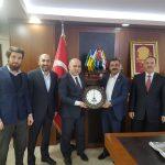 Ufka Yulculuk Komisyonumuz, Sağlık-iş Sendikası Metin MEMİŞ'i ziyaret etti.