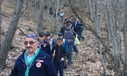 İzcilerimiz Karagöl'de Doğa Yürüşü Yaptı