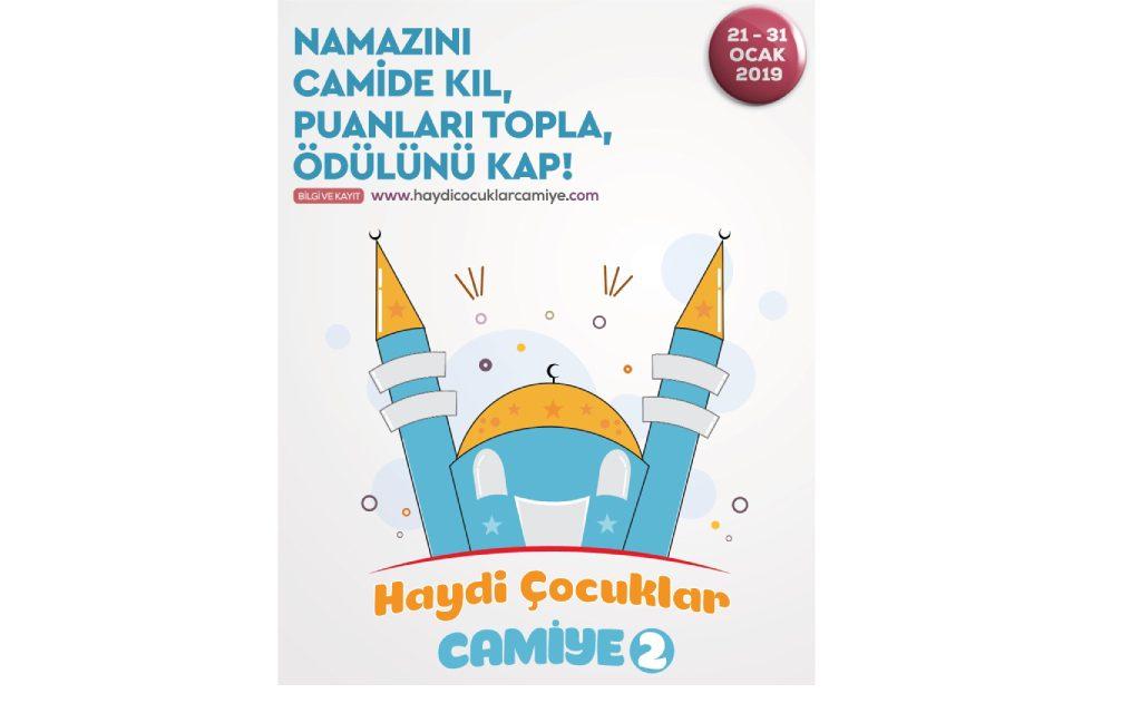 """2019 Yarıyıl Tatilinde """"Haydi Çocuklar Camiye"""""""