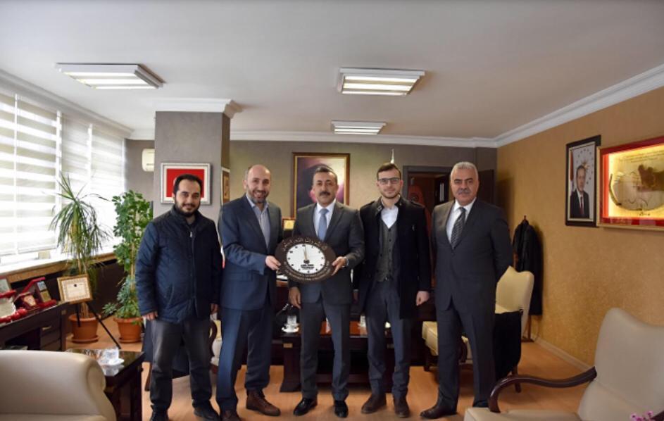 Gençlik Hizmetleri ve Spor İl Müdürü Ferhat TÜRKOĞLU Bey'i Ziyaret Ettik.