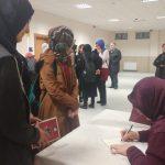 Ufka Yolculuk 7 Yarışma Kitapları Yazarı Semiha BAHADIR'la İmza Günü ve Söyleşileri Yapıldı.
