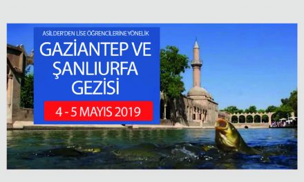 Lise Öğrencilerimizle Şanlıurfa ve Gaziantep'e Gidiyoruz