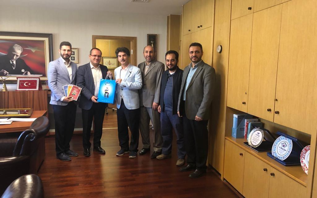 TRT Genel Müdür Yardımcısı Osman URGUN'u Ziyaret Ettik.