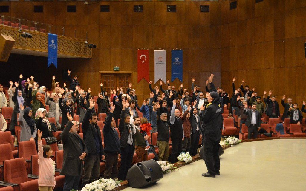 Ankara'da Liderim Ol Programına Büyük İlgi.