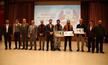 """""""ASİLDER Kısa Film Yarışması"""" Ödülleri Sahiplerini Buldu."""