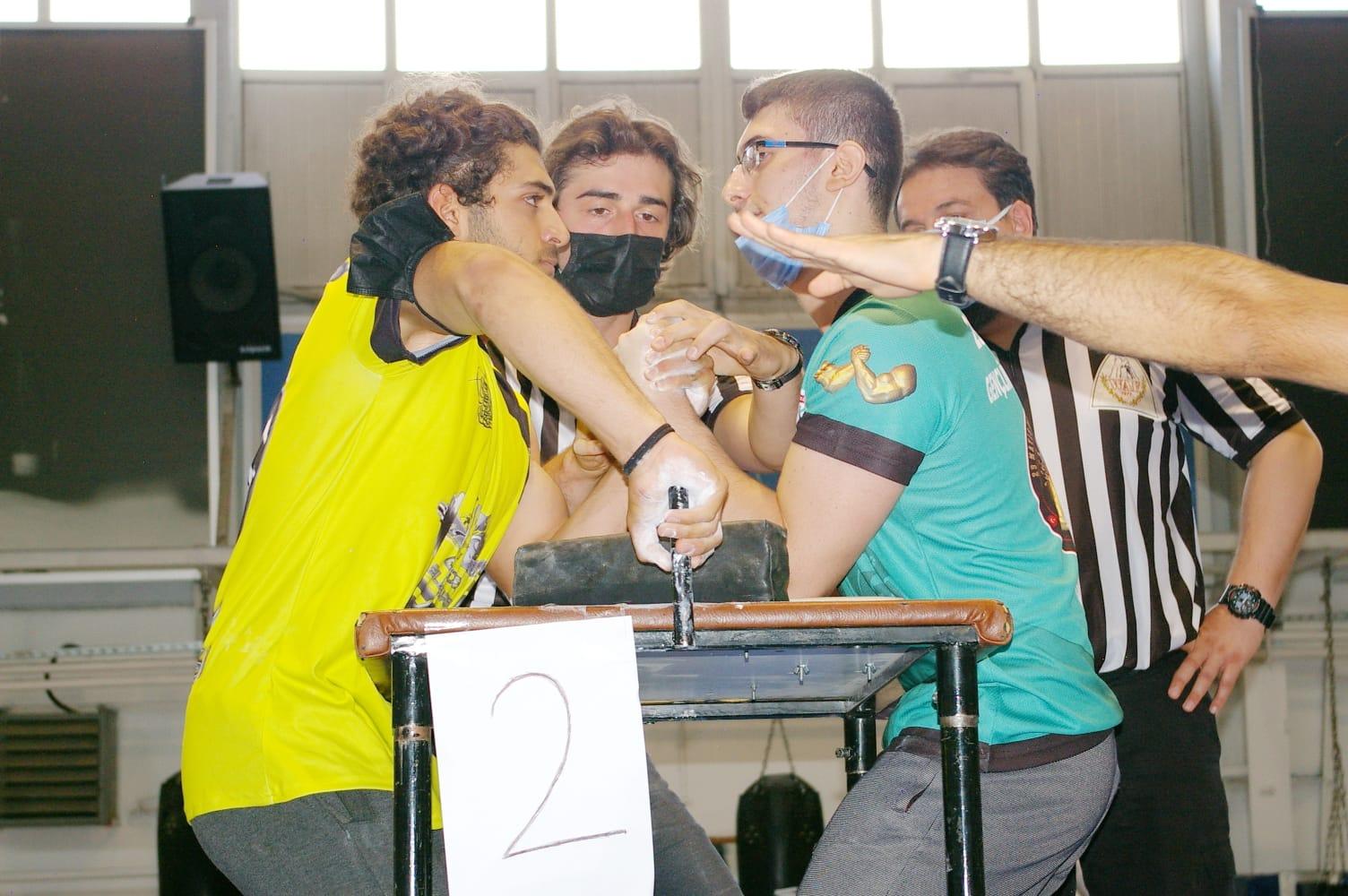 15 Temmuz Şehitlerini Anma Bilek Güreşi Şampiyonasında 17 Madalya kazandık